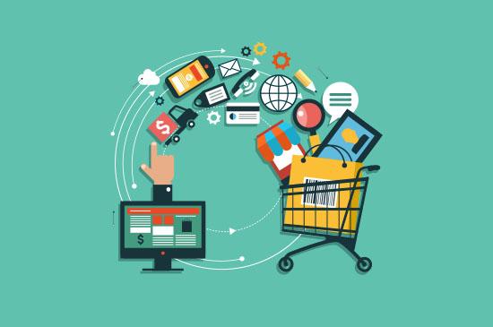 Internet Shopping Seiten
